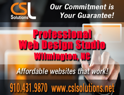 CSL Solutions Professional Web Design Studio in Wilmington NC